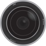 Illustration Of A Camera Lens Stock Images
