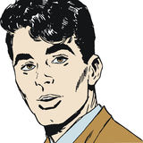 Illustration Of A Young Man Royalty Free Stock Image