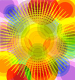 Illustration Of An Abstract Sunny Background. Stock Images