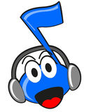 Illustration Of Cartoon Music Tone Stock Images
