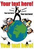 Illustration Of Earth Stock Photos