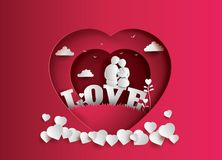Free Illustration Of Love And Valentine`s Day Stock Photography - 111458962