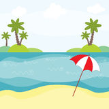 Illustration Of Summer Stock Photos