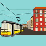 City Tram Royalty Free Stock Photos