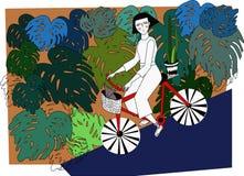 Illustration om flickan Reilly Arkivbild