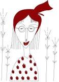 Illustration om röd färg Fotografering för Bildbyråer