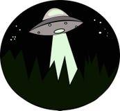 Illustration om ufo Arkivfoto