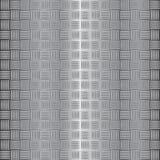 Illustration ondulée de vecteur de plaque d'acier Photos libres de droits
