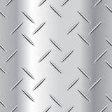Illustration ondulée de vecteur de plaque d'acier Photographie stock libre de droits