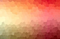 Illustration of orange and red Little Hexagon paint background, digitally generated. Illustration of orange and red Little Hexagon paint background, digitally vector illustration