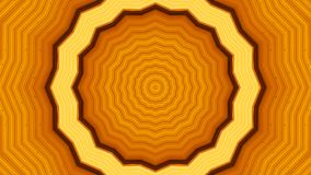 Illustration of Orange Tunnel Abstract Background Royalty Free Stock Images
