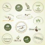 Illustration of organic food, vector Royalty Free Stock Photo