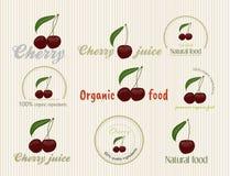 Illustration of organic food Stock Photos