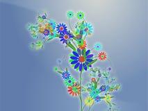 Illustration orientée de conception de nature florale illustration de vecteur