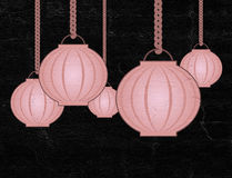 Illustration orientale gentille de lampe image stock