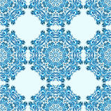 Illustration of ornament seamless pattern with mandala. Illustration of ornament beautiful seamless pattern with mandala Royalty Free Stock Photo