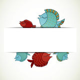 Decorative Fishes Royalty Free Stock Photos