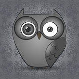 Illustration of a owl Stock Image