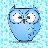 Illustration of a owl Royalty Free Stock Photos