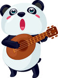 Illustration panda. On white background Stock Photography