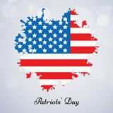 Illustration of Patriot Day background. Illustration of elements of Patriot Day background Royalty Free Stock Image