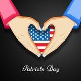 Illustration of Patriot Day background. Illustration of elements of Patriot Day background Stock Images