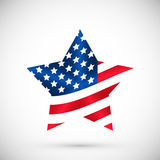 Illustration Patriotic United States of America, USA, vector Stock Photo