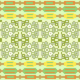 Illustration pattern background green. Illustration vector texture pattern seamless pixel art Vector Illustration
