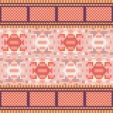 Illustration pattern background orange Royalty Free Stock Image