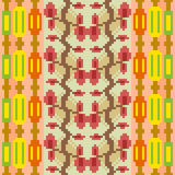 Illustration pattern background red green. Illustration vector texture pattern seamless pixel art royalty free illustration