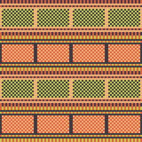 Illustration pattern background red green Stock Images