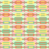 Illustration pattern background red green yellow. Illustration vector texture pattern seamless pixel art royalty free illustration