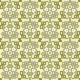Illustration pattern background yellow gray. Illustration vector texture pattern seamless pixel art Royalty Free Illustration