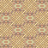 Illustration pattern background yellow orange. Illustration vector texture pattern seamless pixel art Vector Illustration