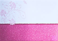 Illustration of pattern paper card Stock Photos