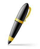 Illustration of a pen Royalty Free Stock Photography