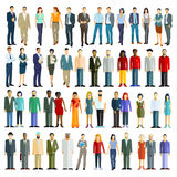 Illustration of people from across the world Royalty Free Stock Image