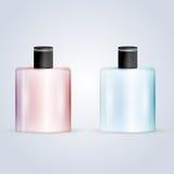 Illustration of perfume flasks Stock Photos