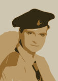 Illustration - Person in Uniform. Illustration of a Person in Uniform Stock Illustration
