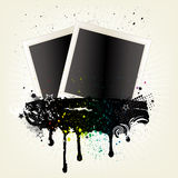illustration of photo frames Royalty Free Stock Photos