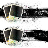 illustration of photo frames Royalty Free Stock Image