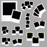 Illustration of Photos. An Illustration of Photos on grey background vector illustration