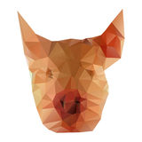 Illustration of pig head Royalty Free Stock Photos
