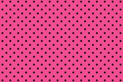 Illustration of pink polka dots pattern background. Illustration pink polka dots pattern background circle small spot fabric plaid wallpaper backdrop set concept stock image