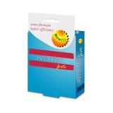 Illustration with placebo medication box on white Royalty Free Stock Images