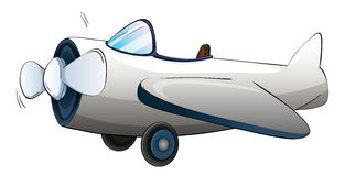 Illustration of a plane Royalty Free Stock Photo