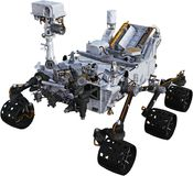 Mars Robot Rover, Space, Isolated, Exploration Stock Image