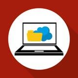 Illustration plate au sujet de système de sécurité Image libre de droits