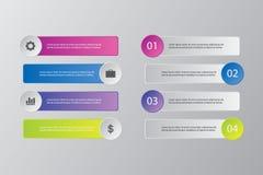 Illustration plate de conception de calibre de présentation pour la publicité de vente de web design photographie stock