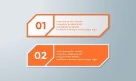 Illustration plate de conception de calibre de présentation pour la publicité de vente de web design image stock